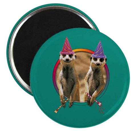 """Meerkat Birthday 2.25"""" Magnet (10 pack)"""