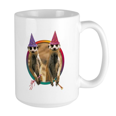 Meerkat Birthday Large Mug