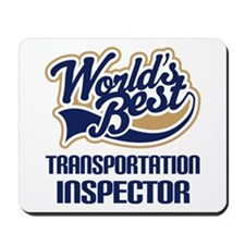 Transportation Inspector Mousepad