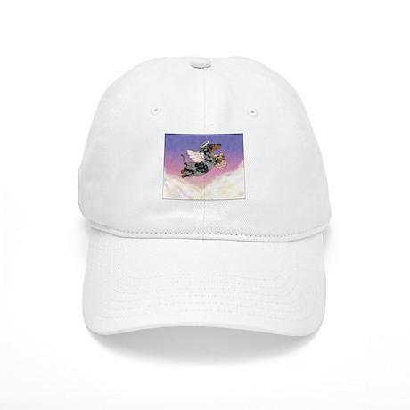 Silver Dapple Dachshund Angel Cap