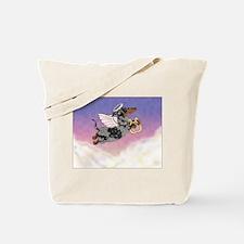 Silver Dapple Dachshund Angel Tote Bag
