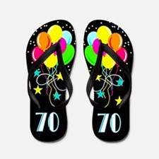 70TH SUPER STAR Flip Flops