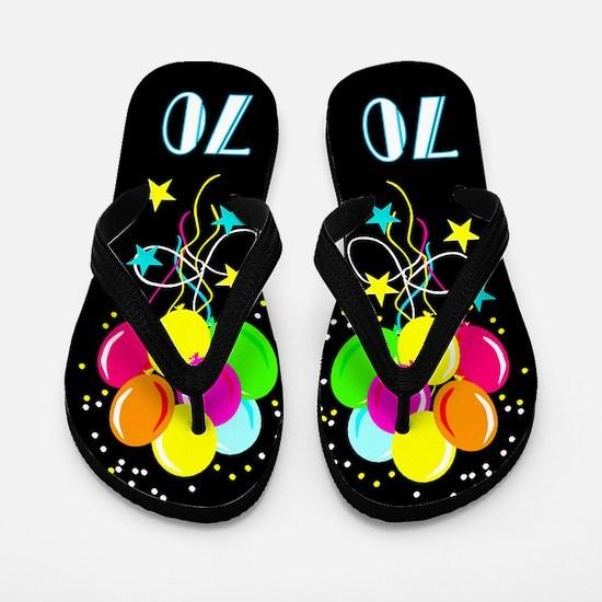 70TH SUPER STAR Flip Flops