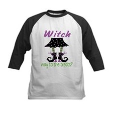 Witch way to the treats? Baseball Jersey