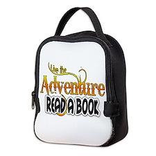 Reading Adventure Neoprene Lunch Bag