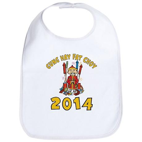 Happy Chinese New Year 2014 Bib