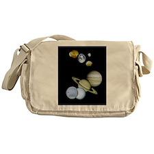 Solar System Messenger Bag