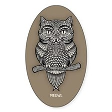 Meowl Decal