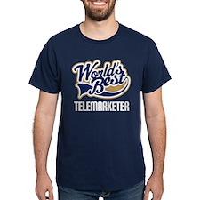 Telemarketer (Worlds Best) T-Shirt