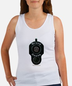 Wrong House - barrel of gun pointed Tank Top