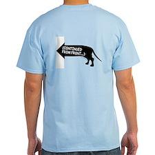 Dachshund (black) continued T-Shirt