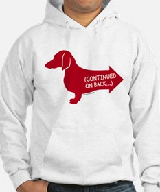Dachshund (red) continued Hoodie