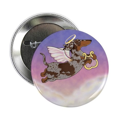 "Chocolate Dapple Angel 2.25"" Button (10 pack)"