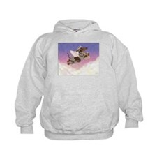 Chocolate Dapple Angel Hoodie