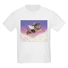 Chocolate Dapple Angel Kids T-Shirt