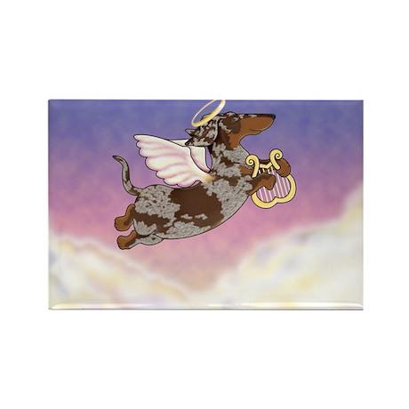 Chocolate Dapple Angel Rectangle Magnet (100 pack)