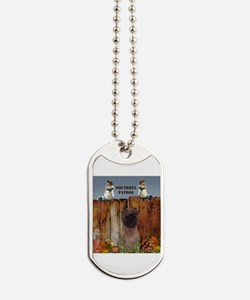 Cairn Terrier Squirrels Dog Tags