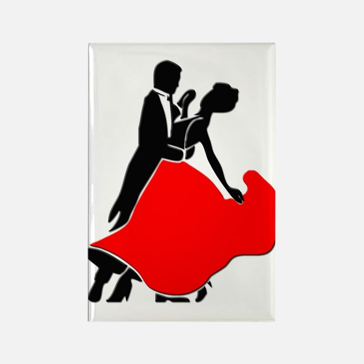 Shall We Dance Rectangle Magnet