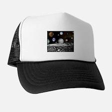 Solar System Montage Trucker Hat