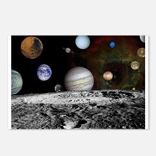 Solar System Montage Postcards (Package of 8)