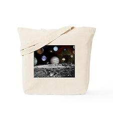 Solar System Montage Tote Bag