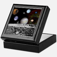 Solar System Montage Keepsake Box