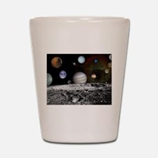 Solar System Montage Shot Glass