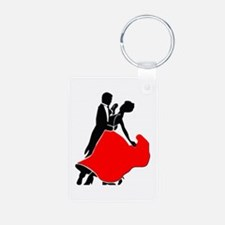 Shall We Dance Aluminum Photo Keychain
