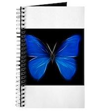 Blue Butterfly Fractal Journal