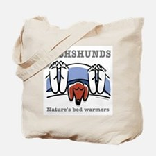 Dachshund bed warmers Tote Bag