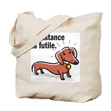 "Dachshund ""Resistance"" Tote Bag"