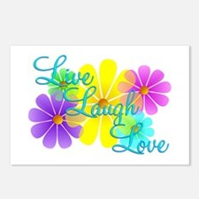 Live Laugh Love Postcards (Package of 8)