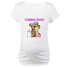 COMING SOON WITH TEDDY BEAR Shirt