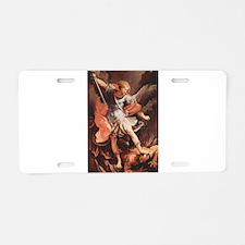 Angel Archangel Michael Aluminum License Plate