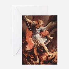 Angel Archangel Michael Greeting Cards