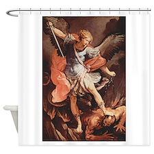 Angel Archangel Michael Shower Curtain