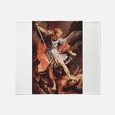 Angel Archangel Michael Throw Blanket