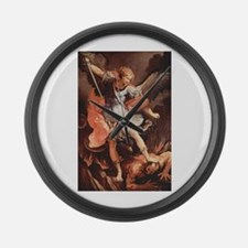 Angel Archangel Michael Large Wall Clock