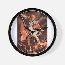 Angel Archangel Michael Wall Clock
