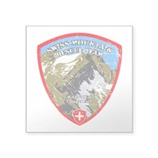 SWISS MOUNTAIN RESCUE-3-DISTRESSED Sticker