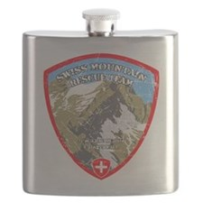 SWISS MOUNTAIN RESCUE-3-DISTRESSED Flask