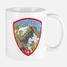 SWISS MOUNTAIN RESCUE-3-DISTRESSED Mugs