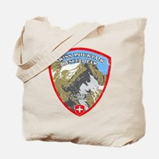 SWISS MOUNTAIN RESCUE-3-DISTRESSED Tote Bag