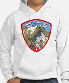 SWISS MOUNTAIN RESCUE-3-DISTRESSED Hoodie