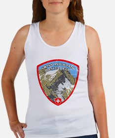 SWISS MOUNTAIN RESCUE-3-DISTRESSED Tank Top