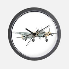 Junkers Bomber Wall Clock