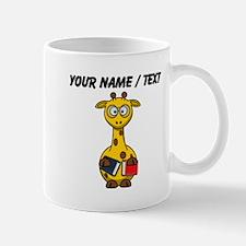 Custom Book Worm Giraffe Mugs