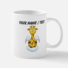 Custom Angel Giraffe Mugs