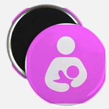 Breastfeeding Symbol [Pink] Magnet