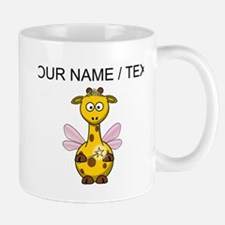Custom Fairy Giraffe Mugs